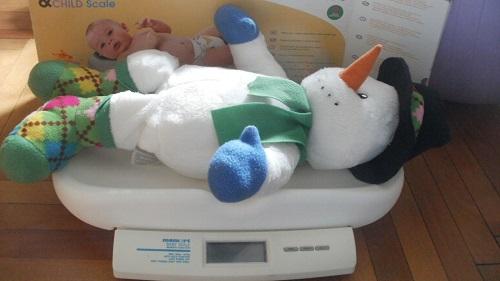 Novorozenecká váha